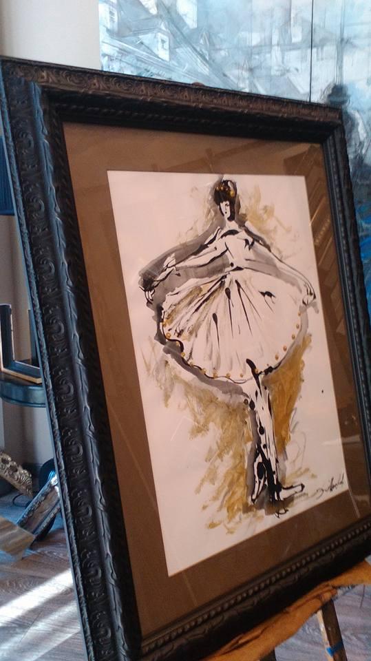 """""""Pan de Oro"""": autor David Callau #arte #cuadros #Zaragoza #MarisaCervantes #enmarcaciones"""