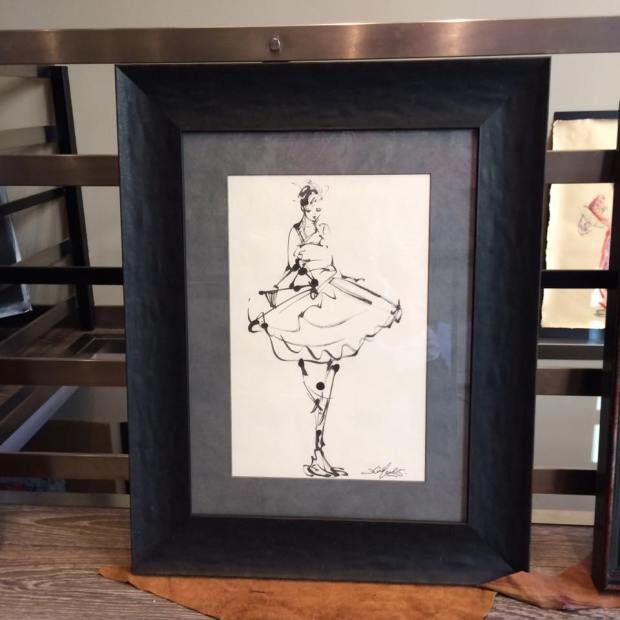 Danza. Obra de David Callau #arte #cuadros #Zaragoza #enmarcaciones #MarisaCervantes @CallauArt