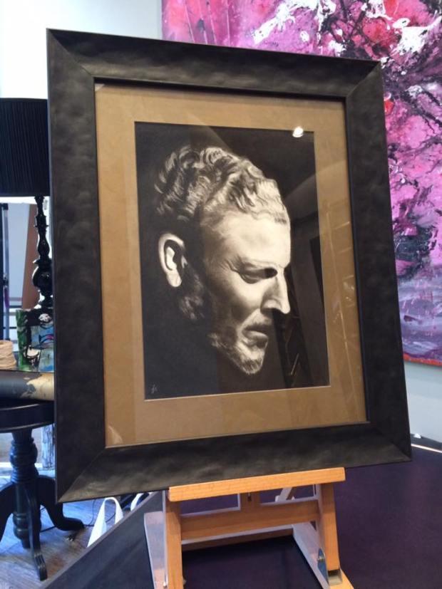Dibujo a lápiz #arte #cuadros #retrato #Zaragoza #MarisaCervantes #enmarcaciones #pintura