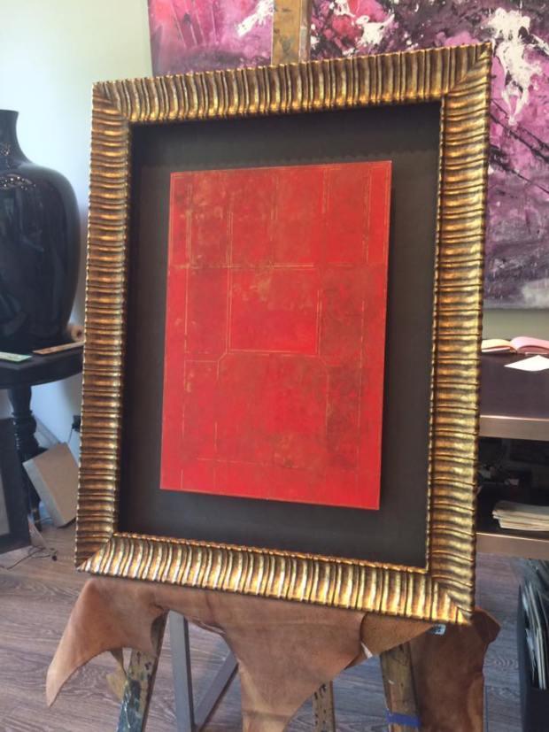 Obra original. Autor José Antonio Pérez de Vargas #arte #cuadros #Zaragoza #MarisaCervantes #enmarcaciones #pintura