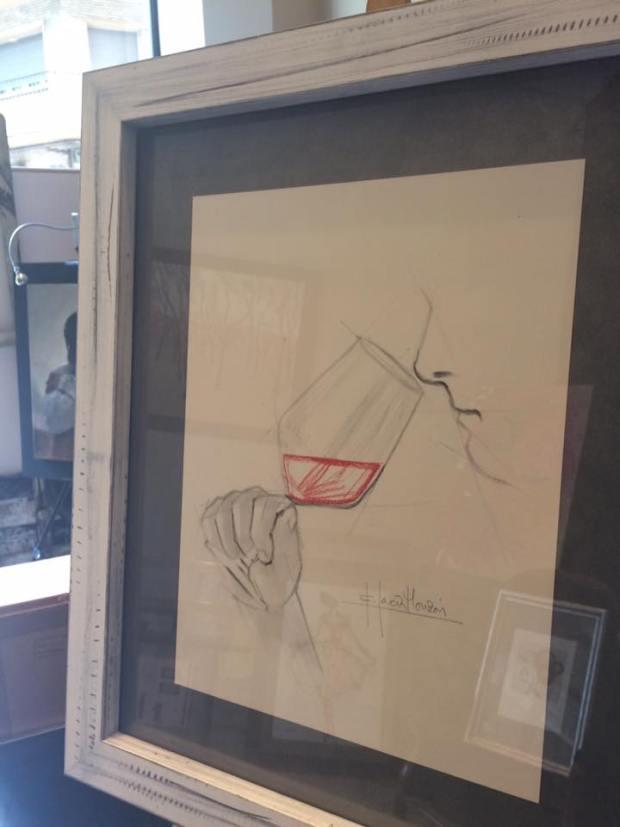 La Cocina también tiene espacio para el arte. Autor Fernando García Monzón
