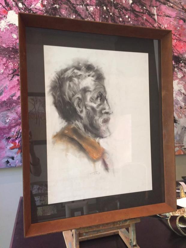 Dibujo a lápiz #enmarcaciones #cuadros #arte #Zaragoza  #MarisaCervantes #dibujo