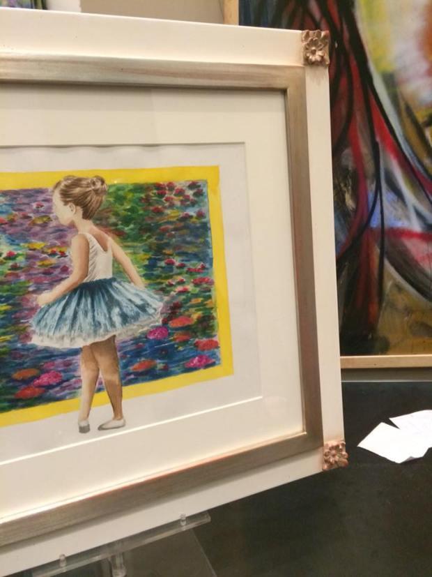 Una pieza deliciosa para regalo  #enmarcaciones #zaragoza #arte #MarisaCervantes #decoracion #cuadros #marcos