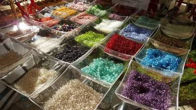 Venetian beads - seed beads