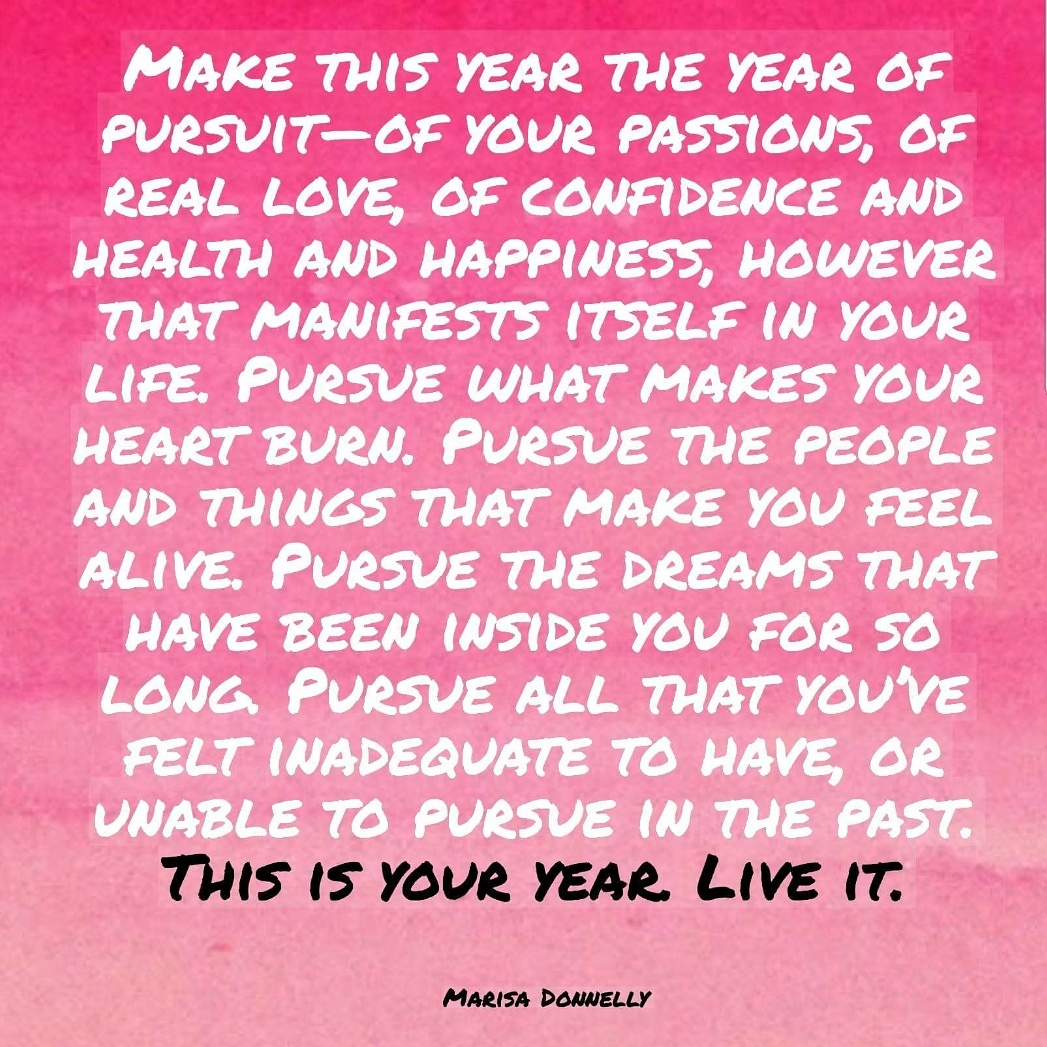 make this year yours