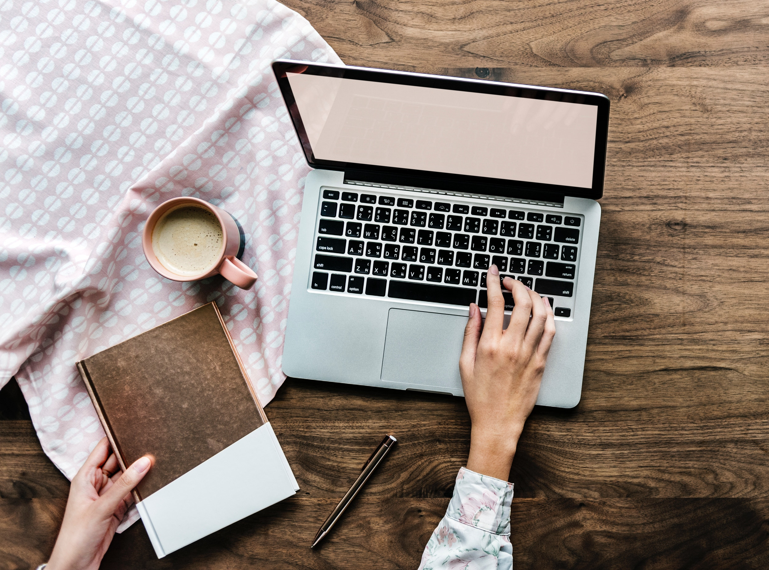 person working, best writing products
