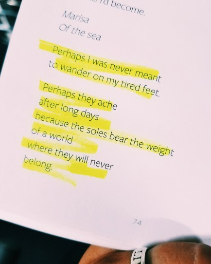 Typed Poem By Marisa Donnelly