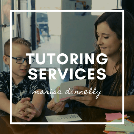 marisa donnelly - tutoring services