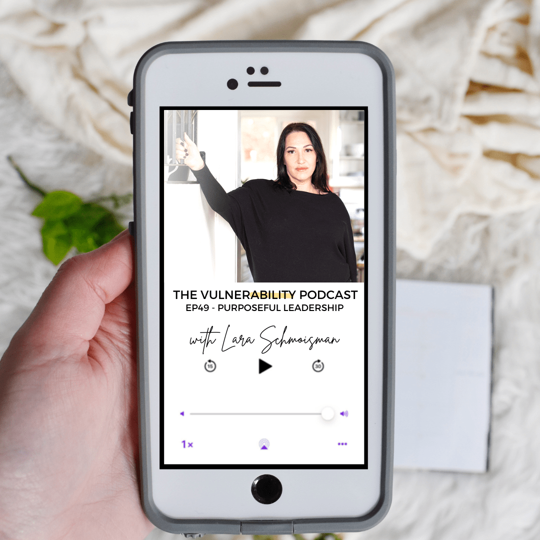 Episode 49 – Authenticity & Purposeful Leadership (ft. Lara Schmoisman)