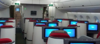 Ethiopian Airlines A350 Business class