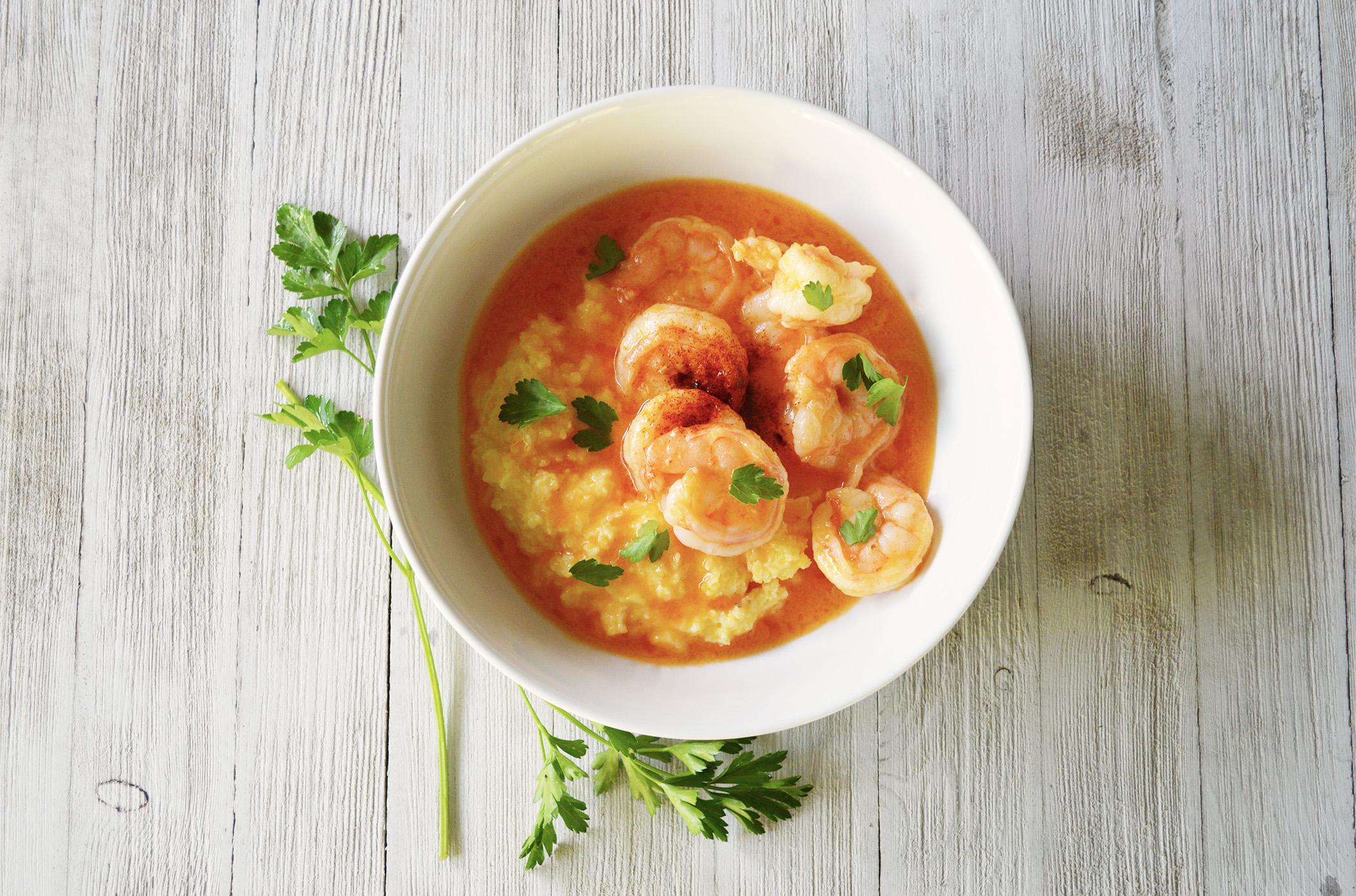 Hot + Spicy Shrimp