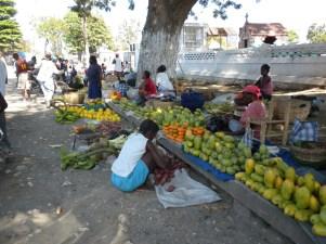 Street-side fruit options