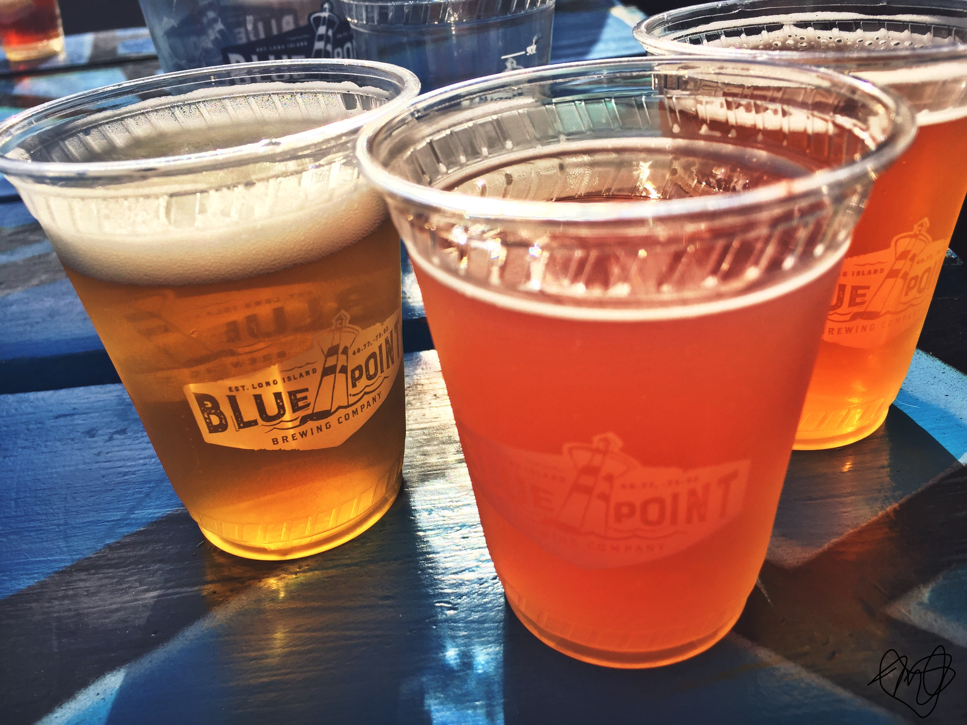 Blue Point Brewery. Patchogue, N.Y. Photo by Marisa Losciale