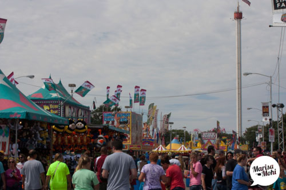 crowds at the state fair of oklahoma