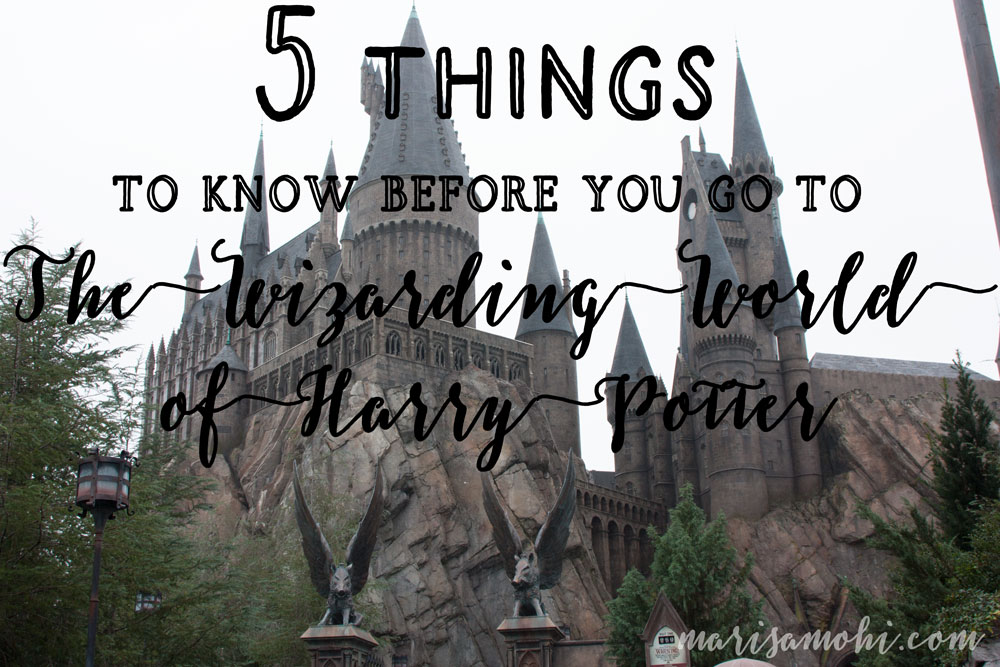 5 things to know before you go to The Wizarding World of Harry Potter