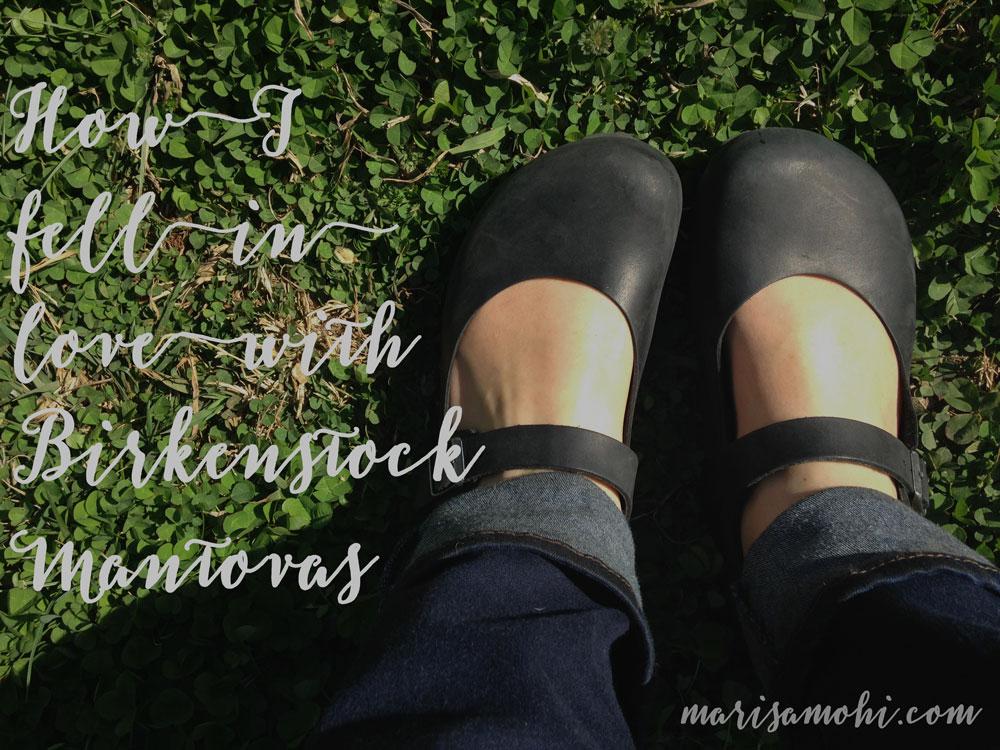 black birkenstock mantovas