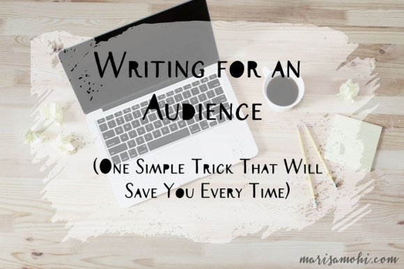 Writing for an Audience