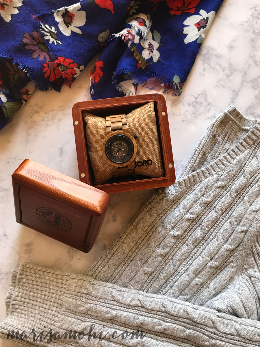 Women's Wood Watch for Your Analog Lifestyle #AD