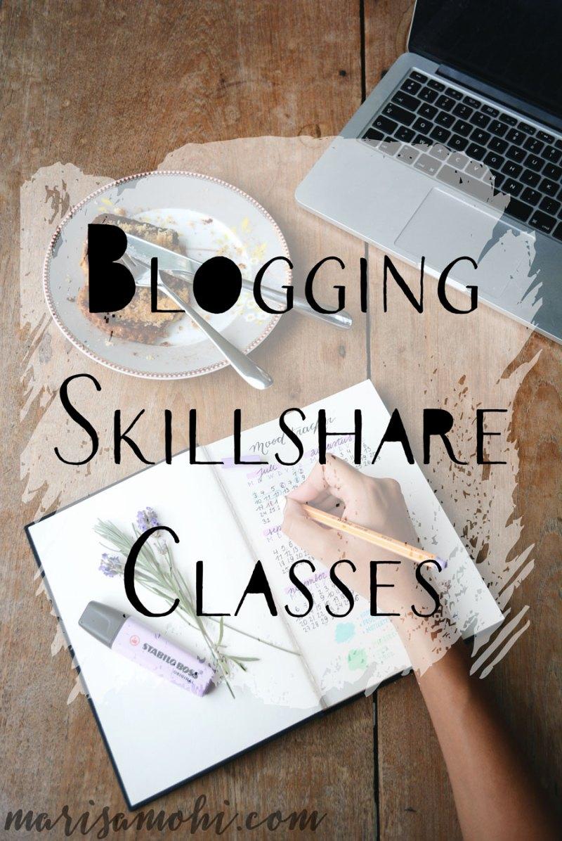 Blogging Skillshare Classes
