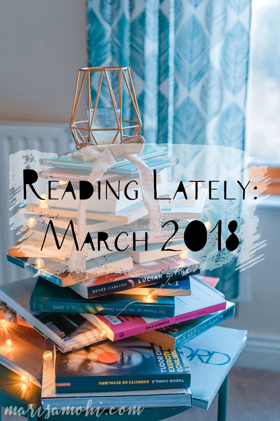 Reading Lately: March 2018
