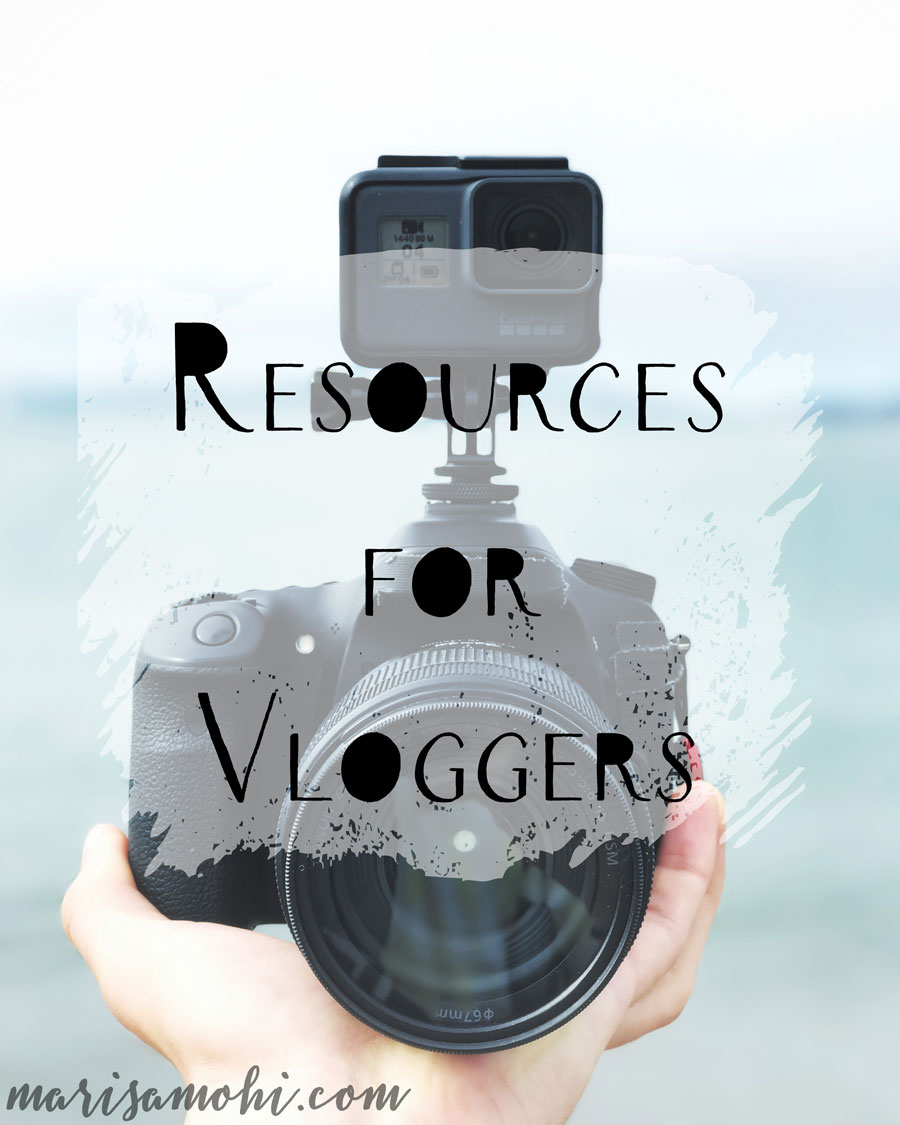 Resources for Vloggers