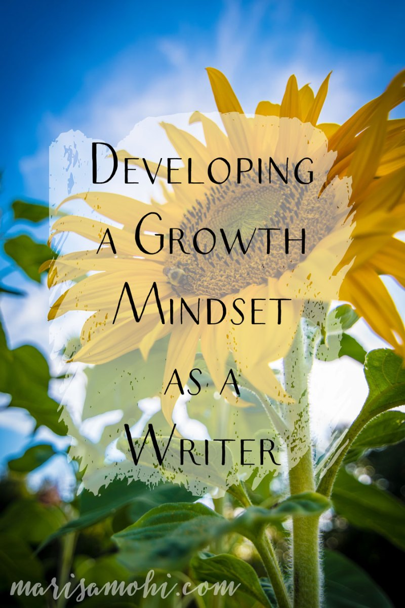 Developing a Growth Mindset as a Writer