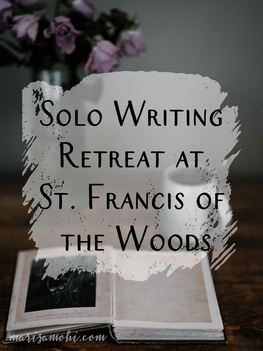 Solo Writing Retreat at St. Francis of the Woods