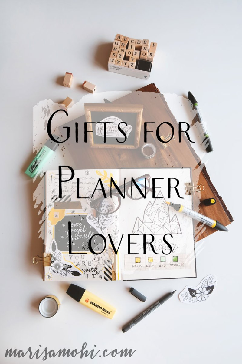 Gifts for Planner Lovers