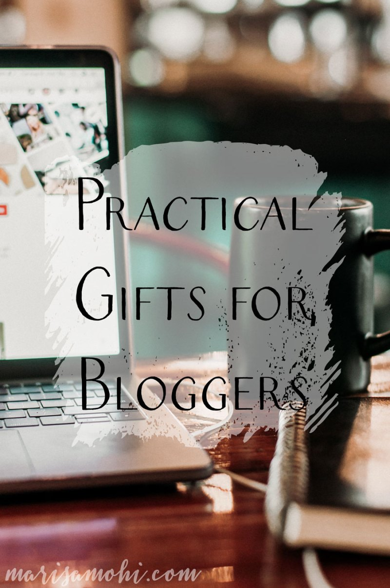 Practical Gifts for Bloggers