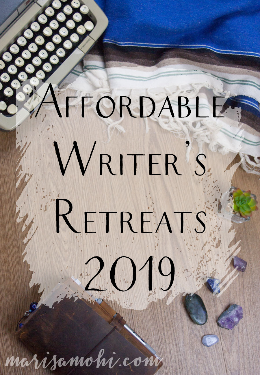 Affordable Writer's Retreats | Writer's retreats are great for getting some work done without distractions. This list of affordable writer's retreats for 2019 won't break the bank!