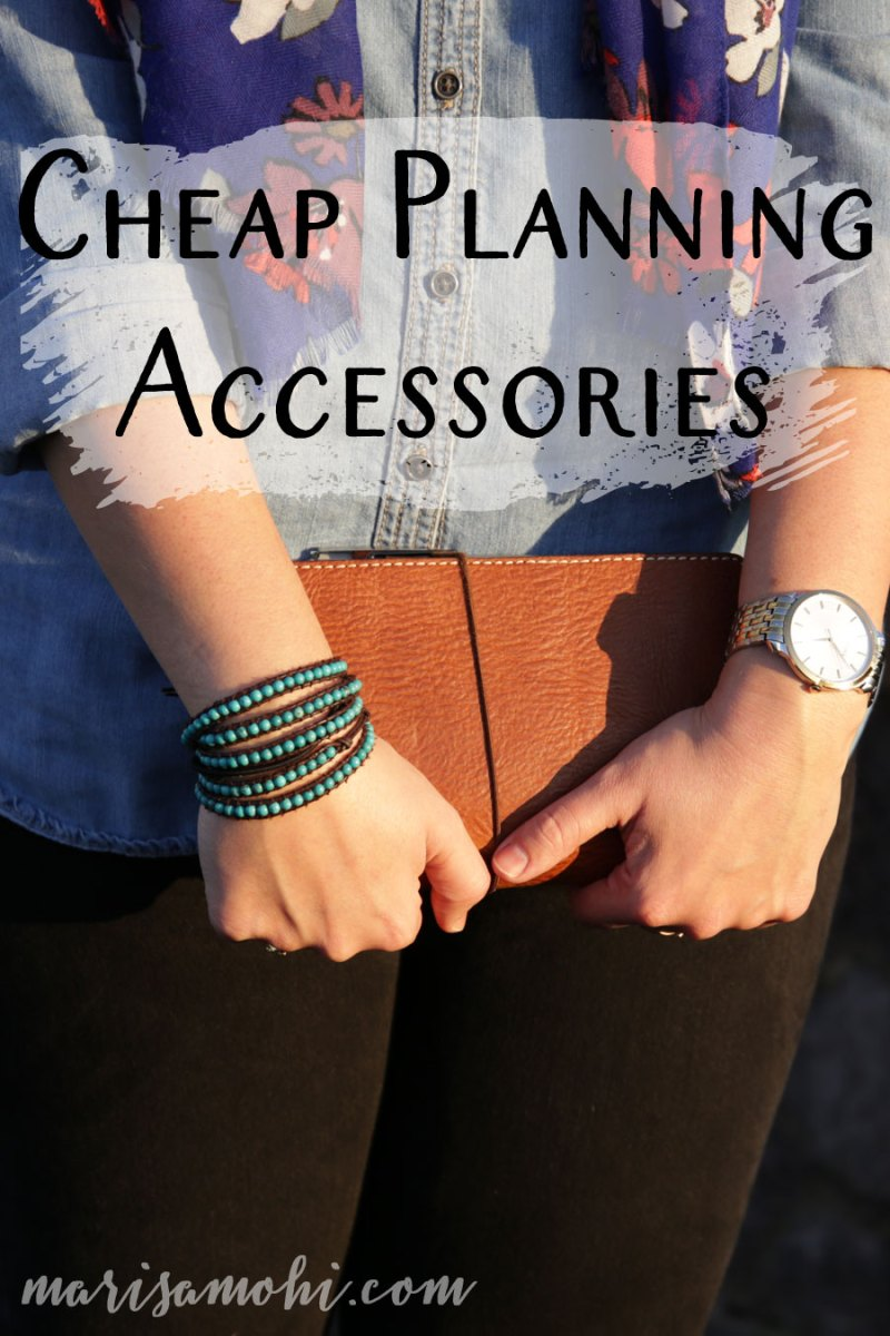 Cheap planning accessories are the key to staying organized and having a cute planner. These are some of my favorite cheap planning accessories.