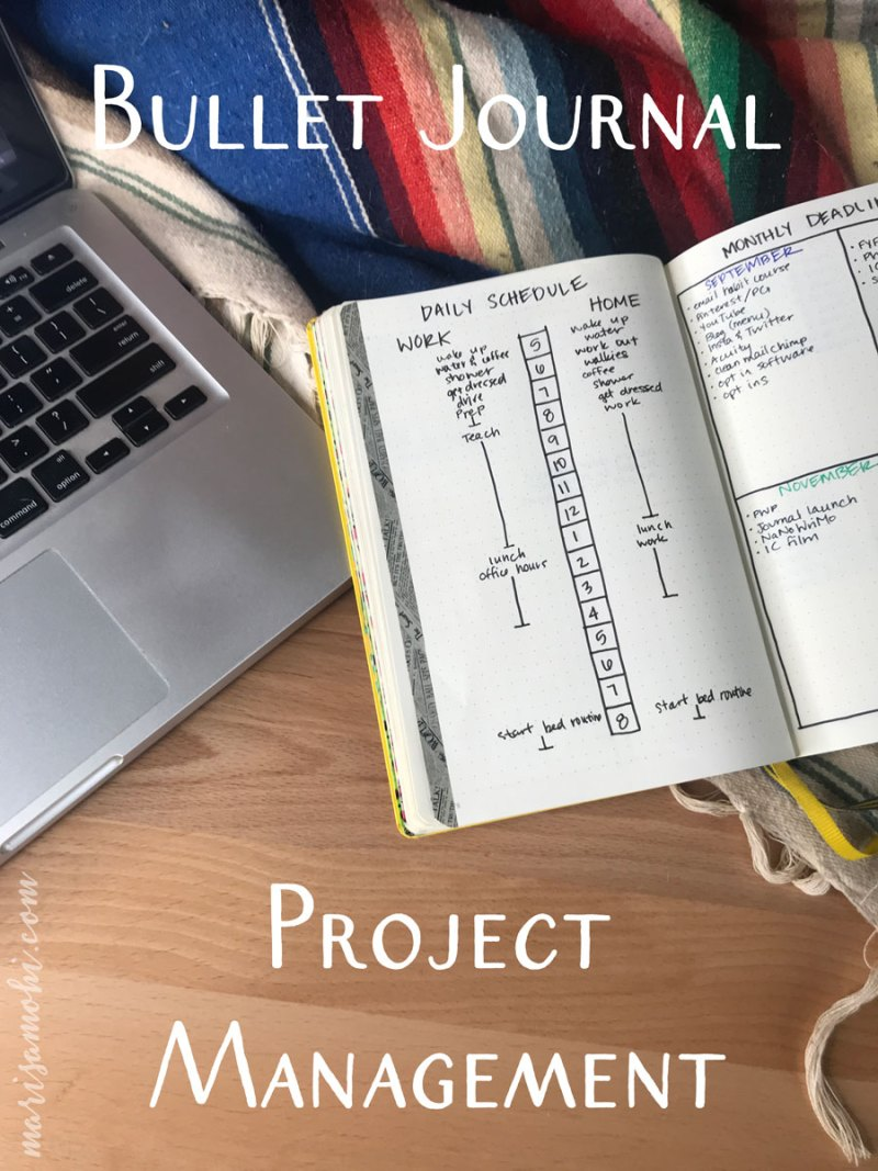Bullet Journal Project Management | I've been looking for ways to organize my thoughts, and I've come up with a few bullet journal project management spreads that make it super easy to focus on the next task at hand.