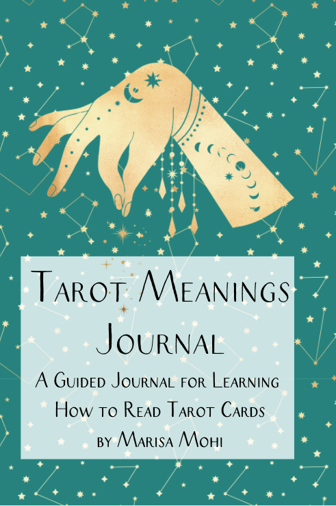 Tarot Card Meanings Journal Cover Image