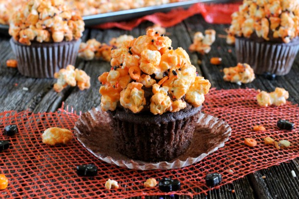 Chocolate Popcorn Halloween Popcorn
