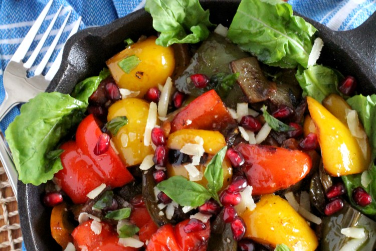 Pan Roasted Pepper Salad