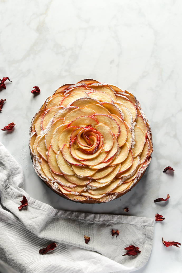 Apple Rose Cake Marisa S Italian Kitchen