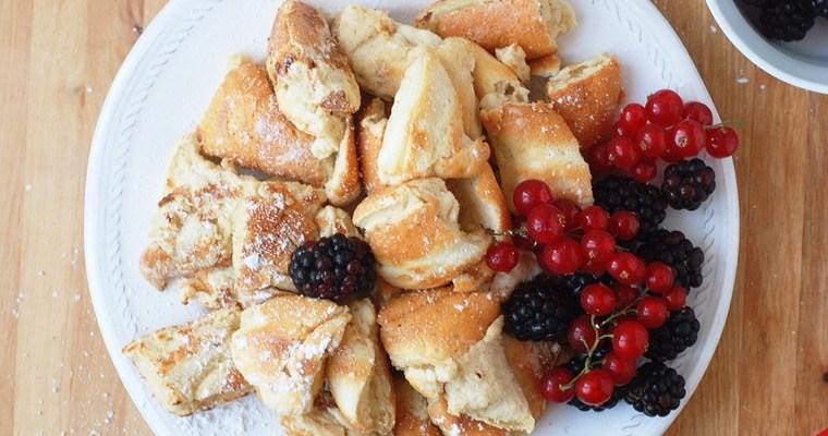 Vanilla Protein Kaiserschmarrn w/ Berries