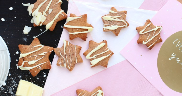 Speculoos Marzipan Cookies
