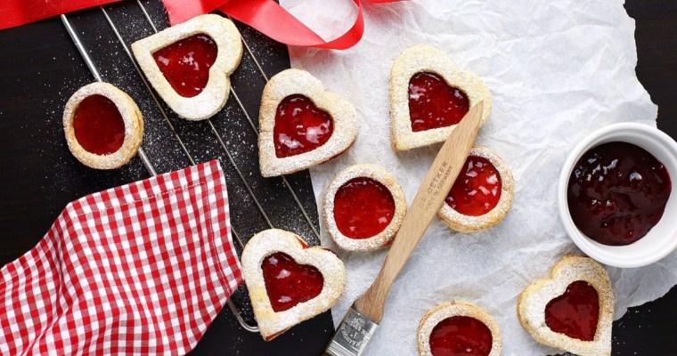 Spitzbuben mit Marmelade