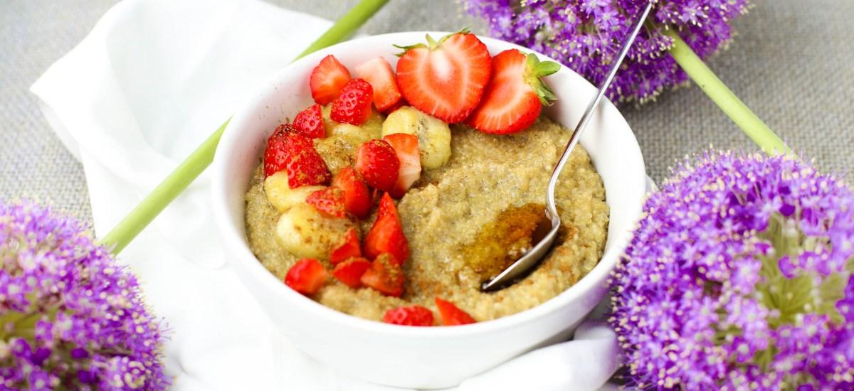 Quinoa Bananen Porridge