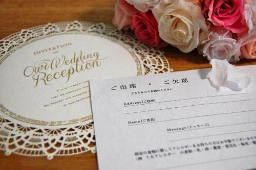 結婚式 準備期間 招待状