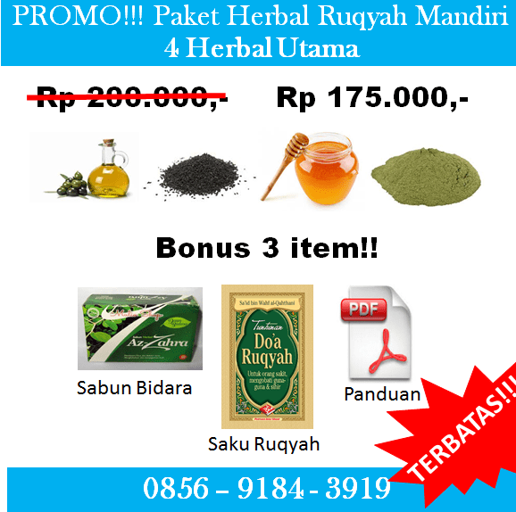 Paket Herbal Ruqyah