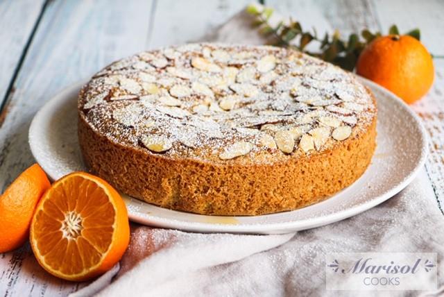 Mandarin Almond Cake/ Gluten Free, Dairy Free