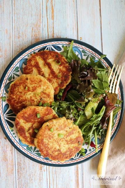 5 Ingredient Tuna and Potato Cakes