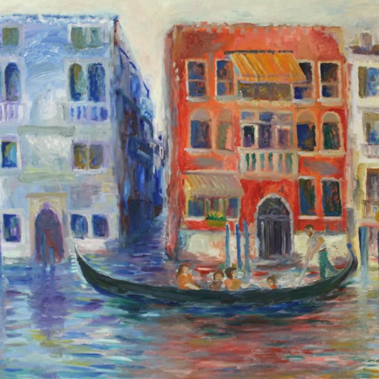 Venice II Painting on Masonite