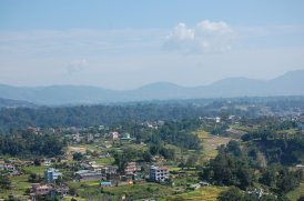 View of Kathmandu from the monastery