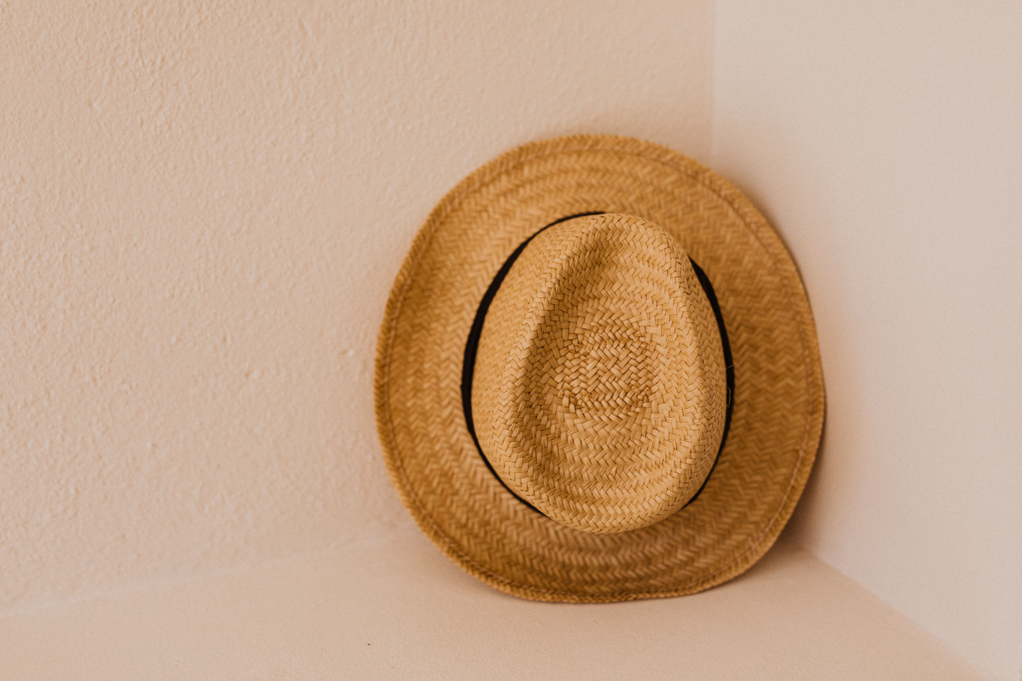beach hat in Mexico
