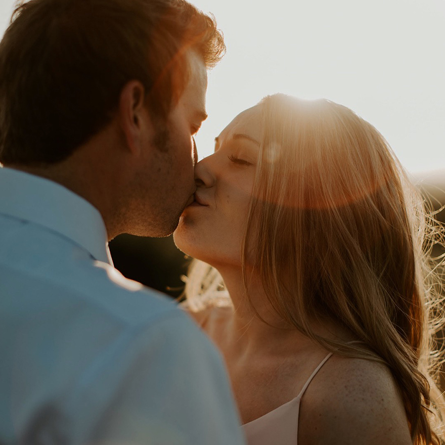 Marissa Merrill engagement photography in Fort Worth
