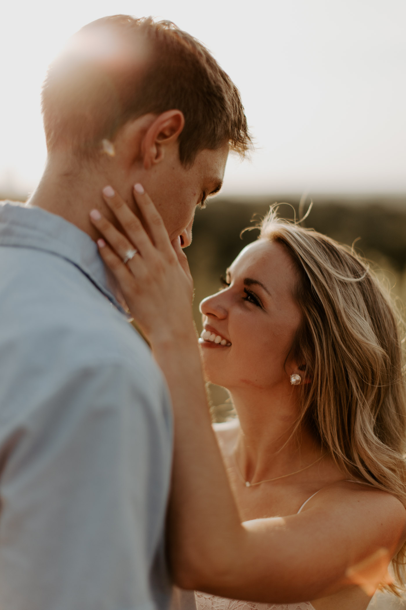 engagement photo in Fort Worth Texas