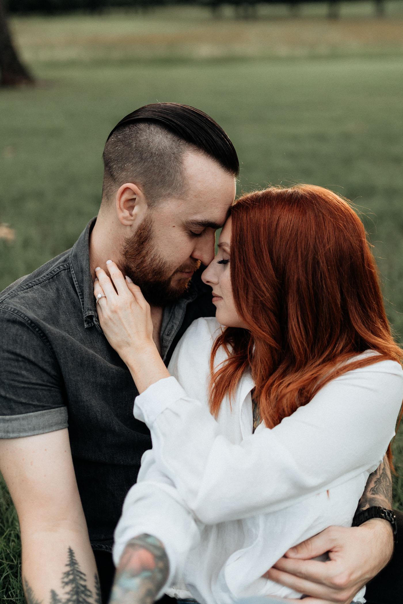 Romantic couples photography DFW